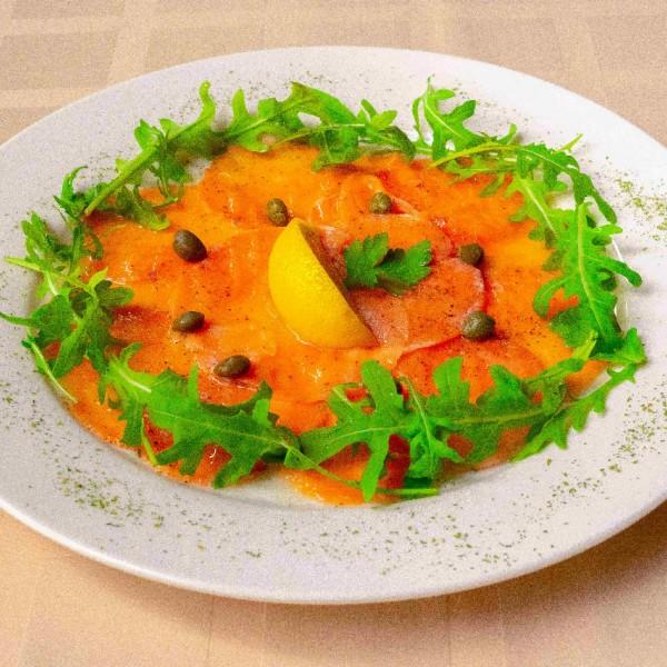 Карпаччо ди сальмоне / Карпаччо из лосося