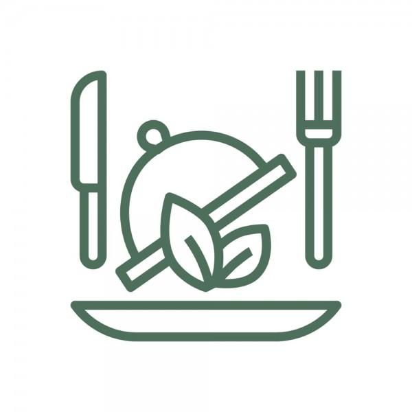 Двойной бургер «Ла Пьяцца»